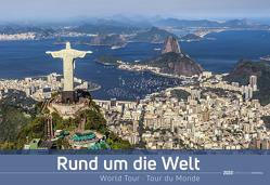 Rund um die Welt 2020 – World Tour – Bildkalender quer (50 x 34) – Reisekalender – Wandkalender von ALPHA EDITION