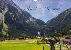 Rund um Krimml (Wandkalender 2018 DIN A3 quer) von hochbildfoto-4you.de,  H.Taube