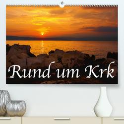 Rund um Krk (Premium, hochwertiger DIN A2 Wandkalender 2020, Kunstdruck in Hochglanz) von Willerer,  Thomas