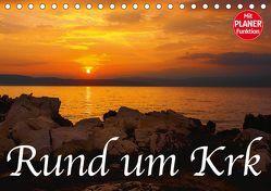 Rund um Krk (Tischkalender 2019 DIN A5 quer) von Willerer,  Thomas