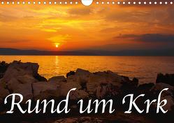 Rund um Krk (Wandkalender 2020 DIN A4 quer) von Willerer,  Thomas