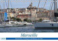 Rund um Marseille (Tischkalender 2020 DIN A5 quer) von Hirsemann,  Sophia
