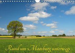 Rund um Moosburg unterwegs (Wandkalender 2018 DIN A4 quer) von Brigitte Deus-Neumann,  Dr.