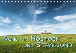 Rund um Rostock und Stralsund (Tischkalender 2019 DIN A5 quer) von Gödecke,  Dieter
