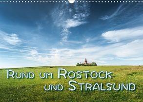 Rund um Rostock und Stralsund (Wandkalender 2018 DIN A3 quer) von Gödecke,  Dieter