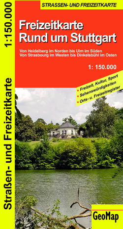 Rund um Stuttgart – Freizeit- und Strassenkarte