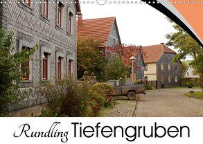 Rundling Tiefengruben (Wandkalender 2020 DIN A3 quer) von Flori0