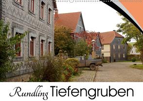 Rundling Tiefengruben (Wandkalender 2021 DIN A2 quer) von Flori0