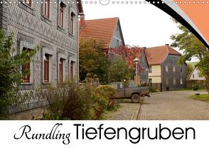 Rundling Tiefengruben (Wandkalender 2021 DIN A3 quer) von Flori0