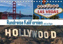 Rundreise Kalifornien mit Las Vegas (Tischkalender 2019 DIN A5 quer) von Fischer,  Gerd