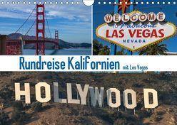Rundreise Kalifornien mit Las Vegas (Wandkalender 2019 DIN A4 quer) von Fischer,  Gerd
