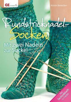 Rundstricknadel-Socken von Benecken,  Kristin