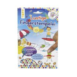 Rundum Kunterbunt Lustige Fingerstempelei Set von frechverlag