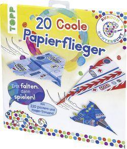 Rundum Kunterbunt Papierflieger-Set von frechverlag