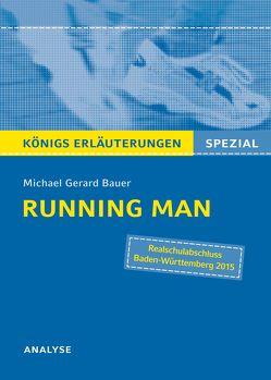Running Man von Michael Gerard Bauer – Textanalyse. von Bauer,  Michael Gerard, Möbius,  Thomas