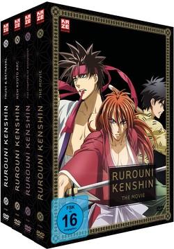 Rurouni Kenshin – Gesamtausgabe – Bundle – (OVAs + Movie) – DVD von Furuhashi,  Hatsuki Tuji,  Kazuhiro