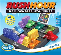 Rush Hour – Das geniale Stauspiel und bekannte Logikspiel von Thinkfun für Jungen und Mädchen ab 8 Jahren
