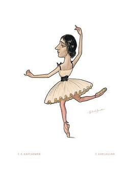 Russian Ballet – Karsavina, T. von Bokelberg,  Werner