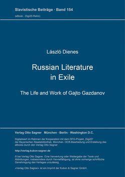Russian Literature in Exile von Dienes,  László