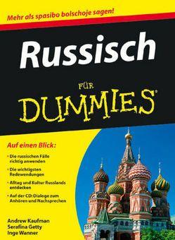 Russisch für Dummies von Gettys,  Serafima, Kaufman,  Andrew, Wanner,  Inge