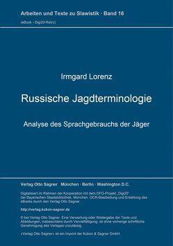 Russische Jagdterminologie von Lorenz,  Irmgard