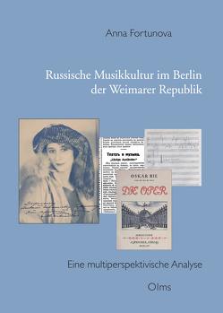 Russische Kultur im Berlin der Weimarer Republik von Fortunova,  Anna