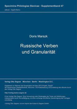 Russische Verben und Granularität von Marszk,  Doris