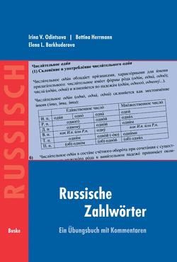 Russische Zahlwörter von Barkhudarova,  Elena L., Herrmann,  Bettina, Odintsova,  Irina V.