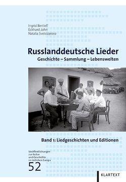 Russlanddeutsche Lieder von Bertleff,  Ingrid, John,  Eckhard, Svetozarova,  Natalia