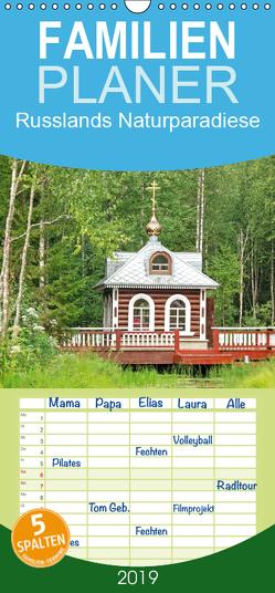 Russlands Naturparadiese – Familienplaner hoch (Wandkalender 2019 , 21 cm x 45 cm, hoch) von CALVENDO