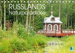 Russlands Naturparadiese (Tischkalender 2020 DIN A5 quer) von CALVENDO
