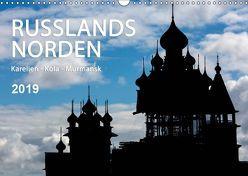Russlands Norden 2019 (Wandkalender 2019 DIN A3 quer) von www.sojombo.de