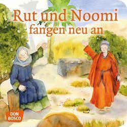 Rut und Noomi fangen neu an. Mini-Bilderbuch von Brandt,  Susanne, Lefin,  Petra