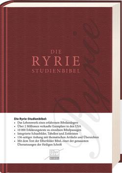 Ryrie-Studienbibel – ital. Kunstleder von Ryrie,  Charles C.