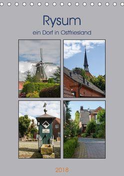 Rysum, ein Dorf in Ostfriesland (Tischkalender 2018 DIN A5 hoch) von Poetsch,  Rolf