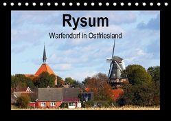 Rysum – Warfendorf in Ostfriesland (Tischkalender 2018 DIN A5 quer) von Poetsch,  Rolf