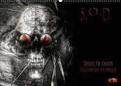 S.O.D. – Skulls Of Death Vol. II – Totenkopf Artworks (Wandkalender 2019 DIN A2 quer) von Heyer (MtP Art),  Mario