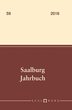 Saalburg Jahrbuch von Amrhein, Carsten, Ebermann, Ernst, Flügel, Christof, Höhn, Ulrich, Höpken, Constanze, Meyr, Martina, Rispa, Pilar, Ruske, Tamara