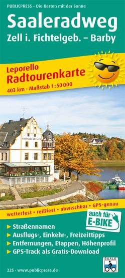 Saale-Radwanderweg, Zell i. Fichtelgeb. – Barby