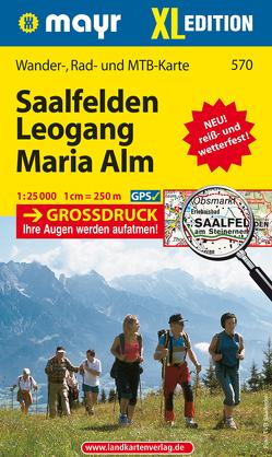 Saalfelden – Leogang – Maria Alm XL von KOMPASS-Karten GmbH