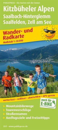 Kitzbüheler Alpen, Saalbach-Hinterglemm, Saalfelden – Zell am See