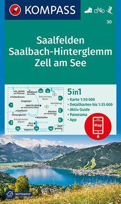 Saalfelden, Saalbach-Hinterglemm, Zell am See von KOMPASS-Karten GmbH