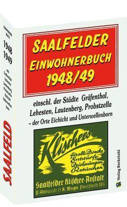 SAALFELDER Einwohnerbuch 1948/49