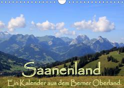 Saanenland. Ein Kalender aus dem Berner Oberland (Wandkalender 2019 DIN A4 quer) von FotografieKontor,  Utes