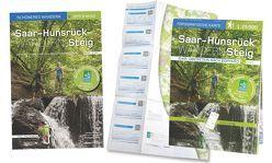 Saar-Hunsrück-Steig – Das WanderSet: Idar-Oberstein bis Boppard. Buch und Detailkarte 1:25 000 im praktischen Pocket-Format von Poller,  Ulrike, Schoellkopf,  Uwe, Todt,  Wolfgang