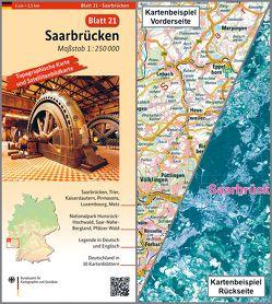 Saarbrücken von BKG - Bundesamt für Kartographie und Geodäsie