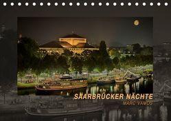Saarbrücker Nächte (Tischkalender 2019 DIN A5 quer) von Vamos,  Marc