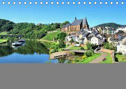 Saarburg – Ein sehenswertes Städtchen an der Saar (Tischkalender 2019 DIN A5 quer) von Klatt,  Arno