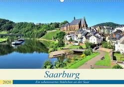 Saarburg – Ein sehenswertes Städtchen an der Saar (Wandkalender 2020 DIN A2 quer) von Klatt,  Arno