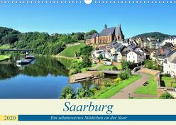 Saarburg – Ein sehenswertes Städtchen an der Saar (Wandkalender 2020 DIN A3 quer) von Klatt,  Arno